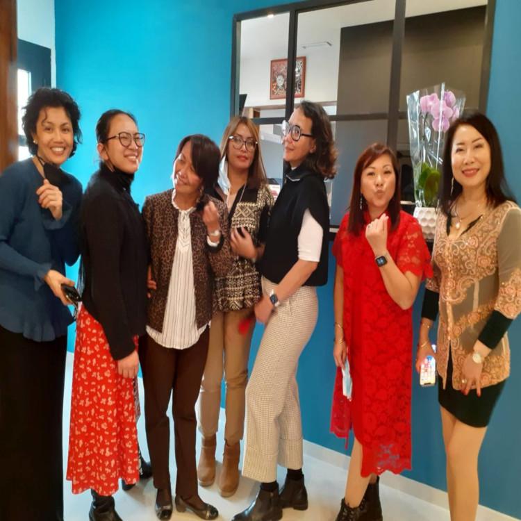 The 8 Ladies (minus one)