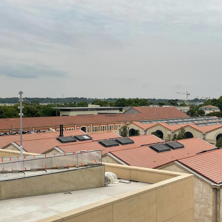 Bahan Gedung LUMA Arles dari Laut