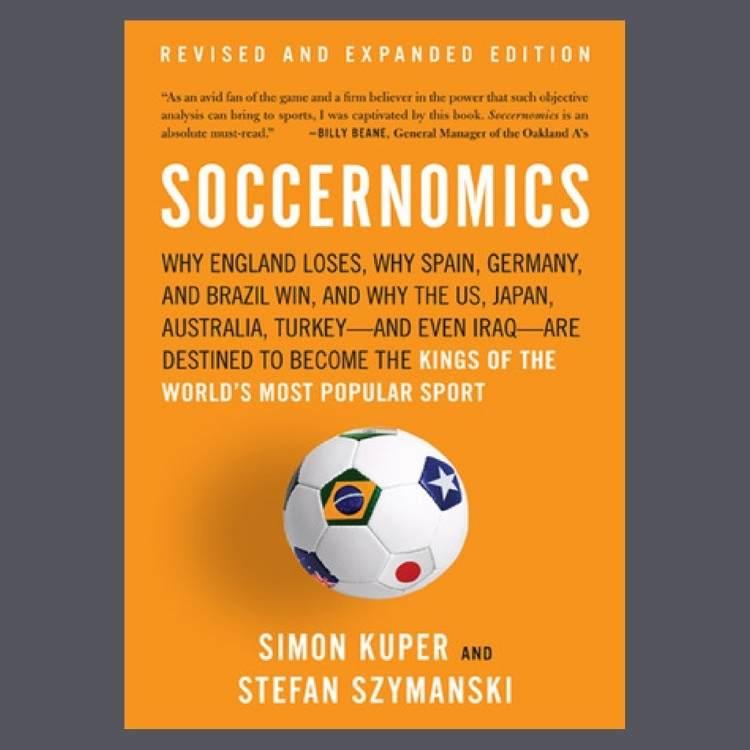 Soccernomics (2009), buku karya Simon Kuper dan Stefan Szymanski